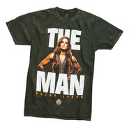 Becky Lynch The Man Mineral Wash T-Shirt