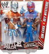 WWE Battle Packs 22 Sin Cara & Rey Mysterio