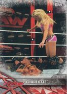 2017 WWE Road to WrestleMania Trading Cards (Topps) Charlotte 5
