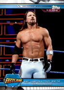 2019 WWE Road to WrestleMania Trading Cards (Topps) AJ Styles 90
