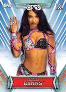 2019 WWE Women's Division (Topps) Sasha Banks 14