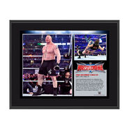 Brock Lesnar WrestleMania 32 10 x 13 Photo Collage Plaque