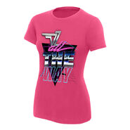 Dolph Ziggler All The Way Women's Authentic T-Shirt
