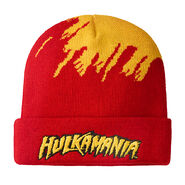 Hulk Hogan Cuffed Knit Beanie Hat