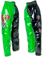 Rey Mysterio Green Black Youth Replica Pants