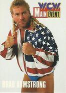 1995 WCW Main Event Trading Cards (Cardz) Brad Armstrong (No.18)