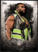 2016 Topps WWE Undisputed Wrestling Cards Big E 2