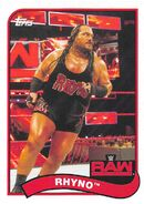 2018 WWE Heritage Wrestling Cards (Topps) Rhyno 62