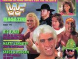 WWF Magazine - March 1992