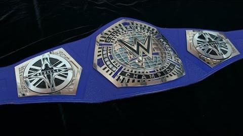 Neville receives custom plates for his new WWE Cruiserweight Title Exclusive, Jan