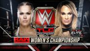 Ronda Rousey vs. Nia Jax TLC 2018