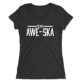 The Miz & Asuka MMC Team Awesuka Women's Tri-Blend T-Shirt
