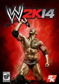 WWE 2K14のポスター
