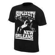 WrestleMania 34 Suplex City Bourbon Street Brock Lesnar T-Shirt