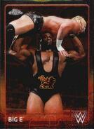 2015 Chrome WWE Wrestling Cards (Topps) Big E 6