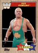 2017 WWE Heritage Wrestling Cards (Topps) Fit Finlay 77