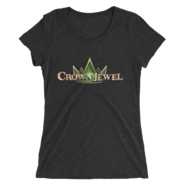 Crown Jewel Logo Women's Tri-Blend T-Shirt