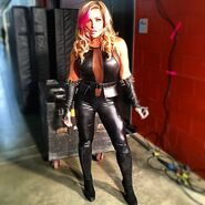 Evil Natalya in Black
