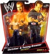 WWE Battle Packs 4 Christian & Tommy Dreamer