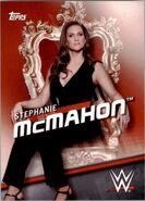 2016 WWE Divas Revolution Wrestling (Topps) Stephanie McMahon 34