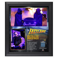 Bray Wyatt 2015 Fastlane 15 x 17 Framed Ring Canvas Photo Collage
