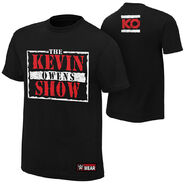 Kevin Owens The Kevin Owens Show Authentic T-Shirt