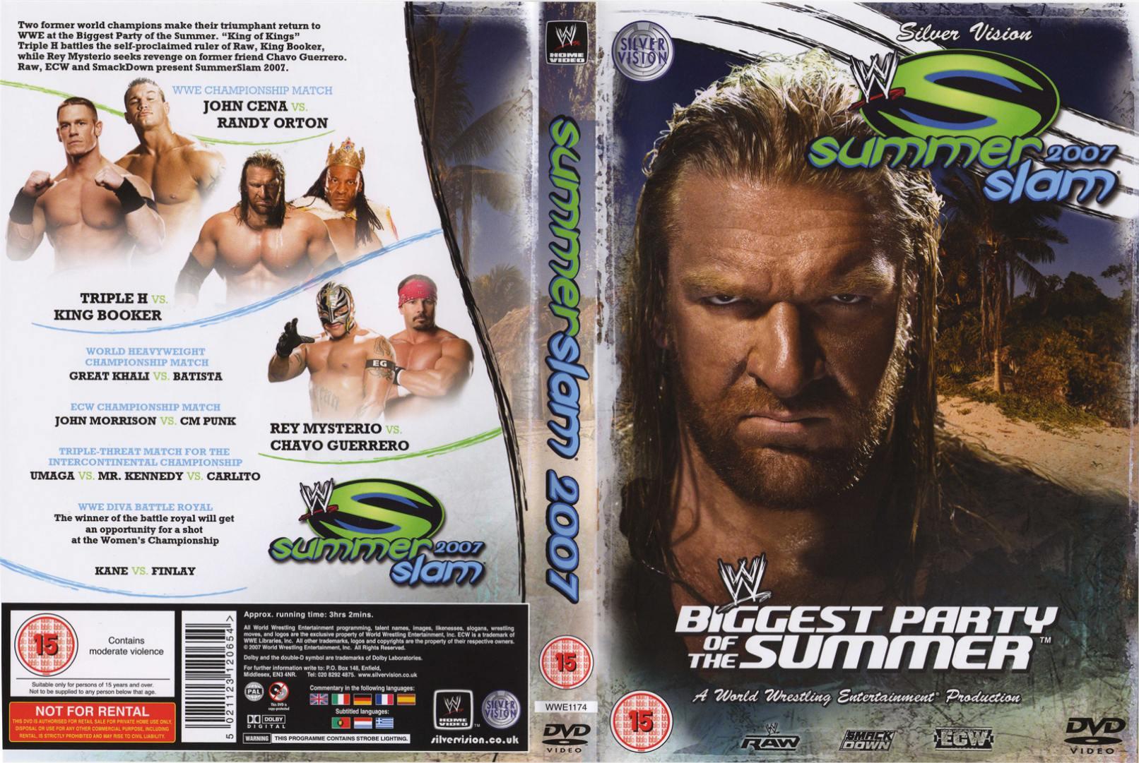 SummerSlam 2007 DVD