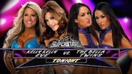 Eve Torres & Kelly Kelly vs The Bella Twins