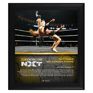 Matt Riddle NXT TakeOver XXV 15 x 17 Framed Plaque