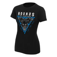 The Shield Hounds of Justice Women's Authentic T-Shirt