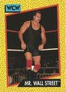 1991 WCW (Impel) Mr. Wall Street 84