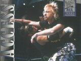 2002 WWF All Access (Fleer) Spike Dudley (No.29)