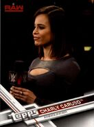 2017 WWE (Topps) Then, Now, Forever Charly Caruso 114