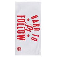 AJ Styles Hard to Follow 30 x 60 Beach Towel