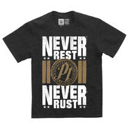 AJ Styles Never Rest, Never Rust Youth Authentic T-Shirt