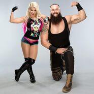 Braun Strowman & Alexa Bliss