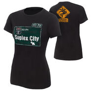 Brock Lesnar Suplex City Women's Authentic T-Shirt