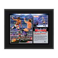 Chris Jericho WrestleMania 32 10 x 13 Photo Collage Plaque