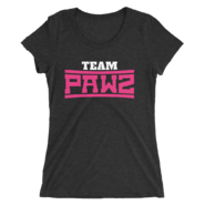 Kevin Owens & Natalya MMC Team Pawz Women's Tri-Blend T-Shirt