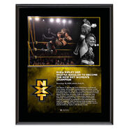 Rhea Ripley NXT Women's Champion 10 x 13 Limited Edition Plaque