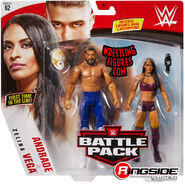 WWE Battle Packs 62 Andrade & Zelina Vega