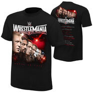 WrestleMania 31 Official Event T-Shirt