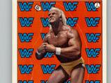 1987 WWF Wrestling Cards (Topps) Sticker Hulk Hogan (No.2)