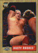 2008 WWE Heritage III Chrome Trading Cards Dusty Rhodes 74