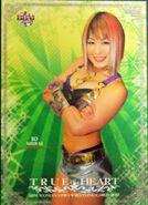 2012 BBM True Heart Japanese Women's Pro Wrestling Io Shirai 46