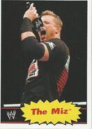 2012 WWE Heritage Trading Cards The Miz 27