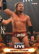 2013 TNA Impact Wrestling Live Trading Cards (Tristar) James Storm 17