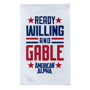 American Alpha Ready, Willing, and Gable Rally Towel