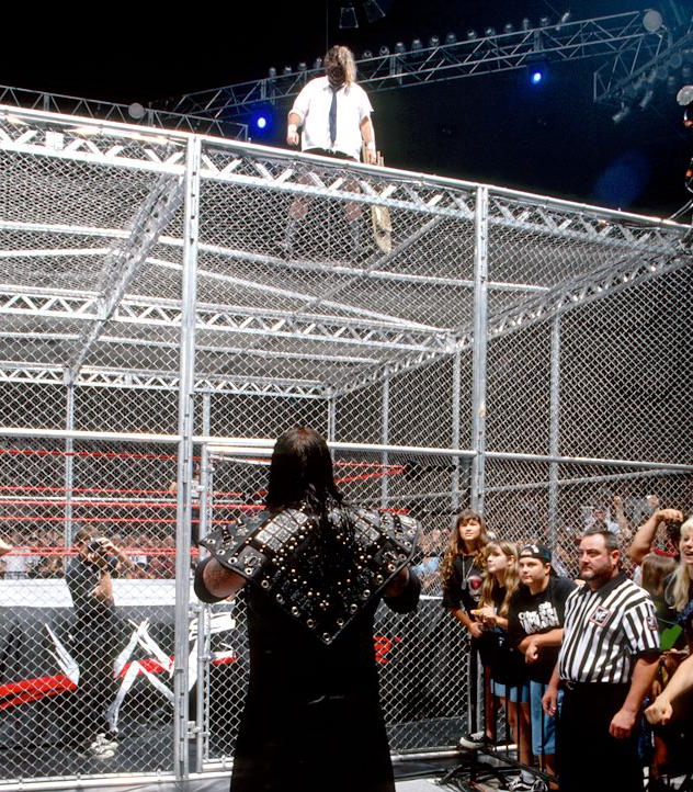 Image result for WWE Hell in a Cell 1998