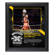 Shayna Baszler NXT TakeOver Chicago 15 x 17 Framed Plaque w Ring Canvas